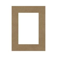 Achat en ligne Rectangle évidé à décorer en bois 40x50cm