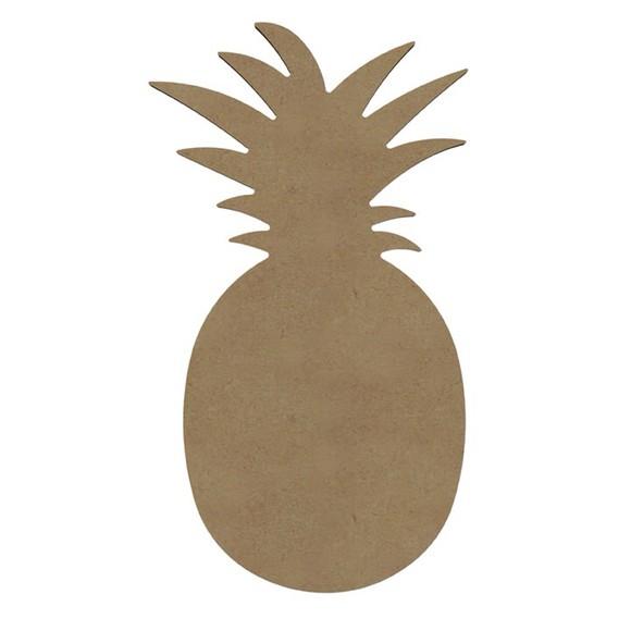 Ananas à décorer en bois 37cm