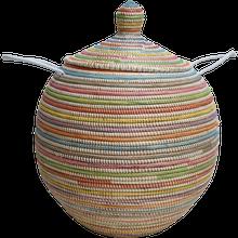 Achat en ligne Panier linge Doum multicolore 50cm