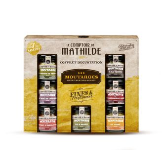 COFFRET DEGUSTATION MOUTARDES 7X35G