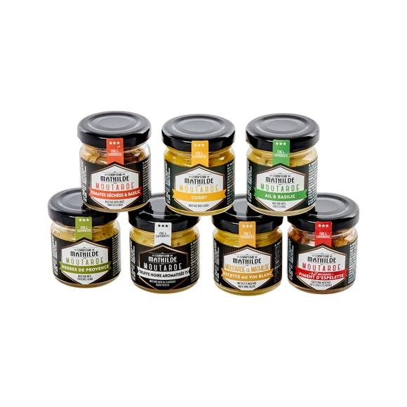 Achat en ligne Coffret dégustation moutardes 7X35G