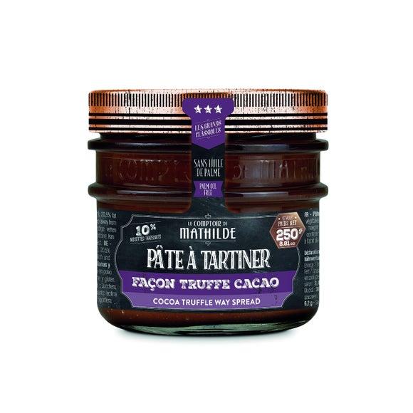 Achat en ligne Pâte à tartiner façon truffe cacao 250g