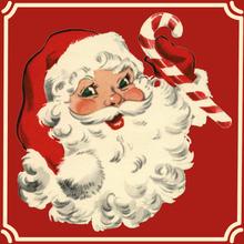 Achat en ligne 20 Serviettes Père Noël vintage 33x33cm