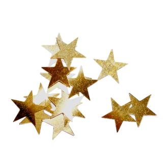 Sachet de petites étoiles or