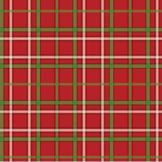 20 serviettes 33x33cm tartan