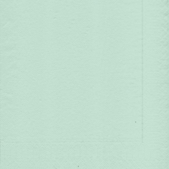 Achat en ligne 20 serviettes 33x33 cm vert tilleul
