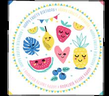 Achat en ligne 20 Serviettes kids fruits 33x33cm