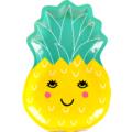 8 Assiettes kids ananas 27,5x19 cm