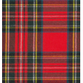 20 serviettes imprimées carreaux écossais 33x33cm