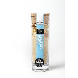 QUAI SUD - Mélange pour cocktail Punch Caraïbe 120g