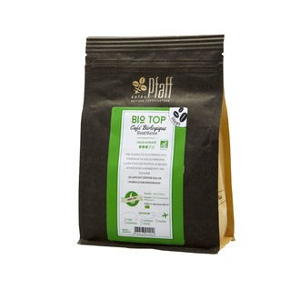 Café en grain bio 100% arabica en sachet 250g