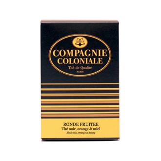 COMPAGNIE COLONIALE - Thé noir Ronde fruitée 25 sachets 50g