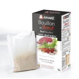 ARIAKE -  Bouillon de Boeuf 5 sachets 33cl