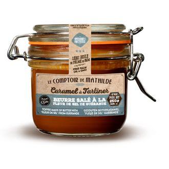 LE COMPTOIR DE MATHILDE - Pâte à tartiner crème caramel et fleur de sel 250g