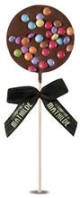 Achat en ligne Sucette chocolat lait surprise partie 40g