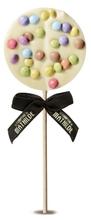 Achat en ligne Sucette chocolat blanc surprise partie 40g