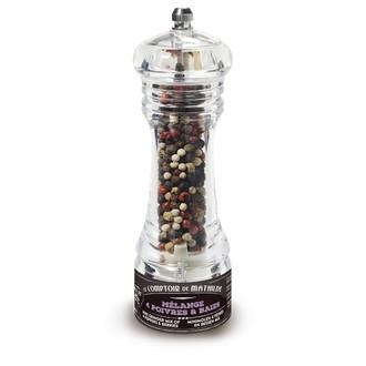 Le comptoir de mathilde - moulin avec mélange de 4 poivres et baies 20g