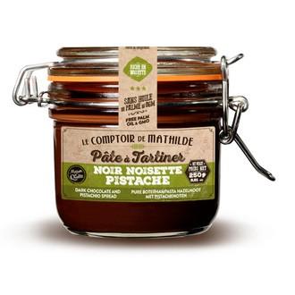 LE COMPTOIR DE MATHILDE - Pâte à tartiner au chocolat noir et pistaches