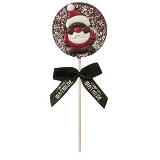 LE COMPTOIR DE MATHILDE - Sucette au chocolat lait Noël 40g