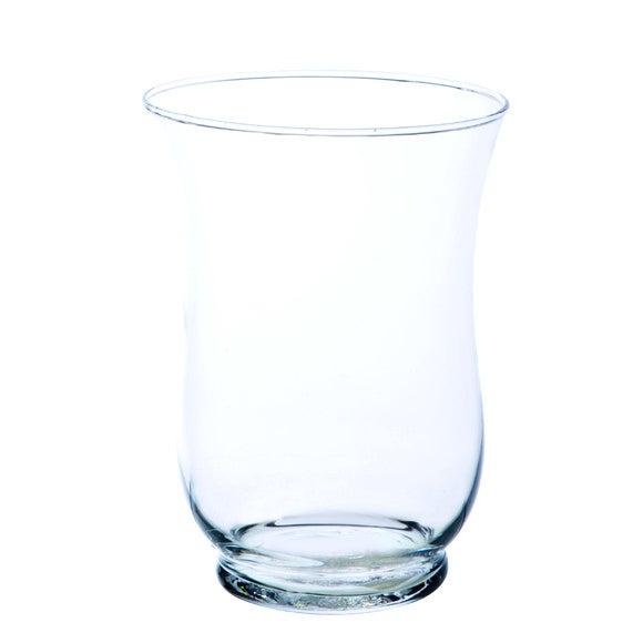 Achat en ligne Photophore hurricaine en verre transparent H15xD9cm
