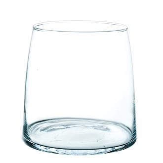 Vase en verre transparent norway h16xØ15,5cm
