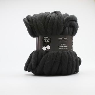 Kesi art - pelote 100% laine charbonneux yvette 25m