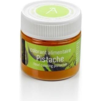 Colorant alimentaire en poudre hydrosoluble pistache pot 10g