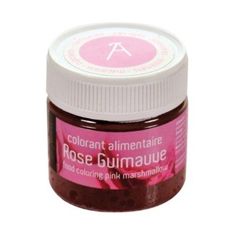 Colorant alimentaire rose guimauve liquide en pot 10g