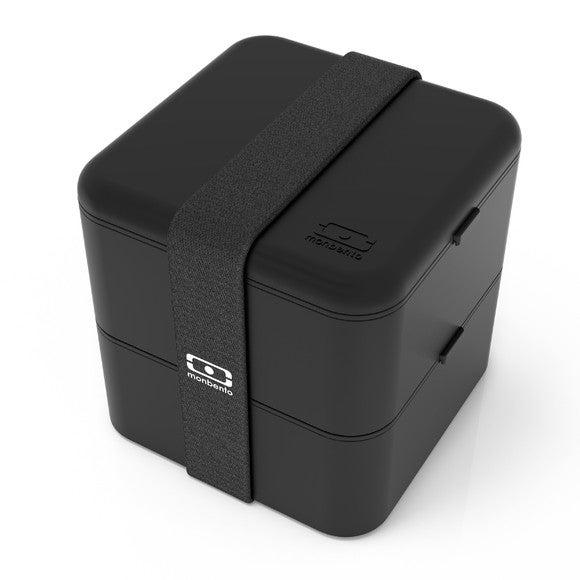 acquista online Bento portapranzo ermetico quadrato nero 1L