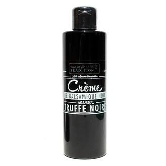Savor & sens - crème balsamique noir saveur truffe 200ml
