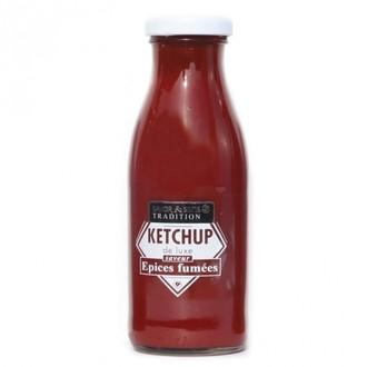 Sauce ketchup saveur épices fumées 280g