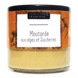 Moutarde Deluxe -  cèpes et sauternes 190g