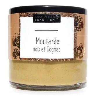 Moutarde Deluxe - noix et cognac 190g