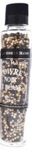 Achat en ligne Moulin poivre noir et blanc 150g