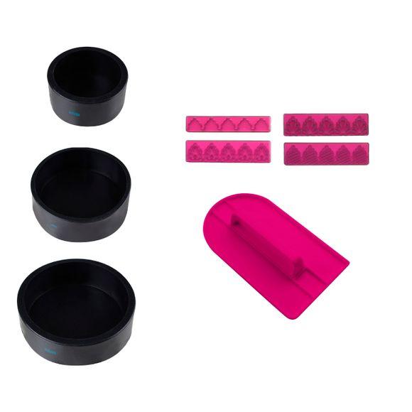 Kit cake design en silicone
