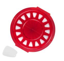 Achat en ligne Moule découpoir à mini croissant apéritif en plastique 38cm