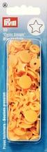 Achat en ligne 30 Boutons pression Etoiles jaunes