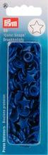 Achat en ligne 30 Boutons pression Etoiles bleues