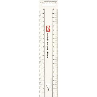 ECLAIR PRYM - Réglette rigide pour plis et ourlets 24x4,5cm
