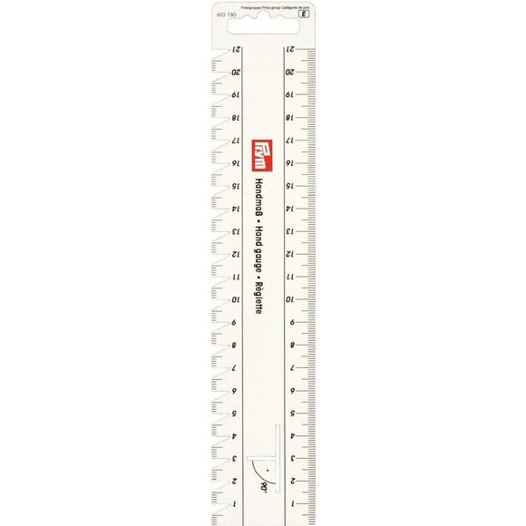 Achat en ligne Réglette rigide pour plis et ourlets 24x4,5cm