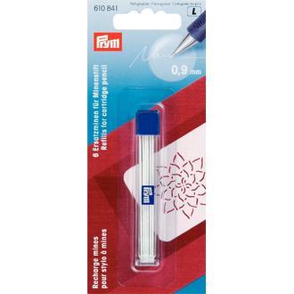 ECLAIR PRYM - Recharge mines pour stylo à mines blanc 0,9mm