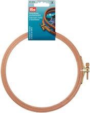 Achat en ligne Cercle à broder en hêtre épaisseur 8 mm, largeur 16cm