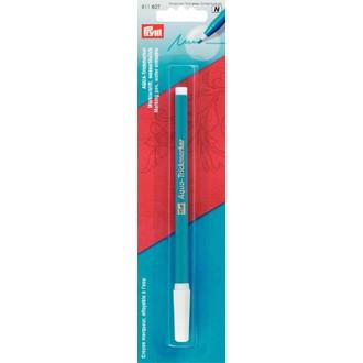 ECLAIR PRYM - Crayon marqueur effacable à l'eau à pointe fine bleu turquoise