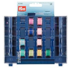 Achat en ligne Boîte rangement 32 canettes transparent et bleu 13x16x3cm