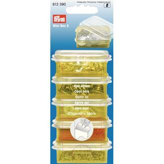ECLAIR PRYM - Boîte de rangement en plastique 5,5x3,5cm