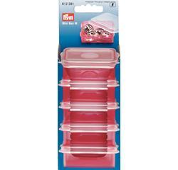 Achat en ligne Boîte de rangement en plastique 5,5x4,8cm