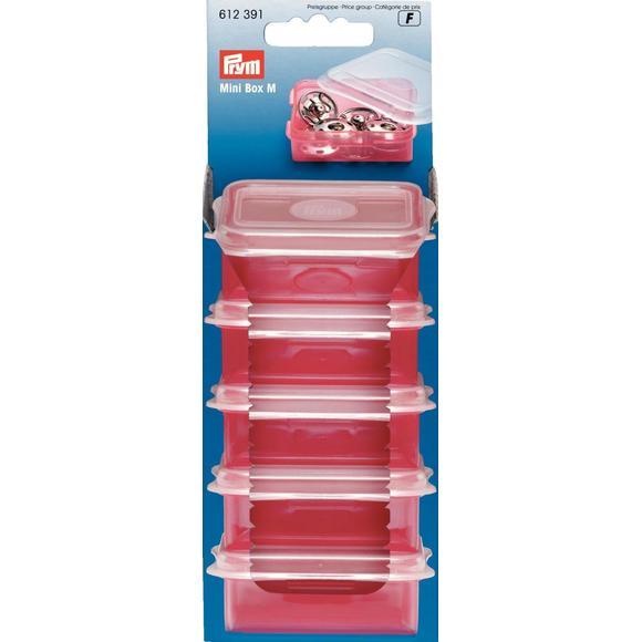 Boîte de rangement en plastique 5,5x4,8cm