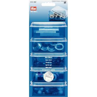 ECLAIR PRYM - Boîte de rangement en plastique 8,8x5,9cm