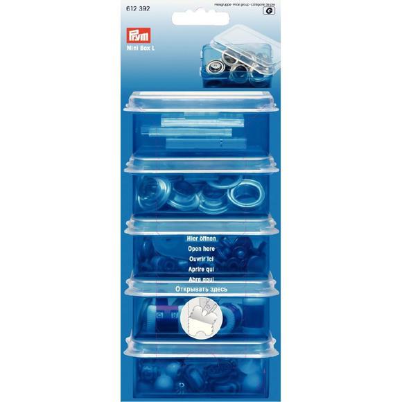 Boîte de rangement en plastique 8,8x5,9cm