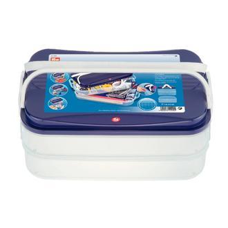 ECLAIR PRYM - Boîte à couture à compartiments modilables Clickbox Jumbo - 7L